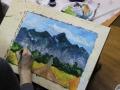 пейзаж. горы