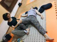 Обучающее занятие по тайскому массажу